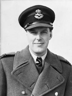 Wing Commander M L Robinson, Tangmere Wing Leader, at Westhampnett, Sussex. During the Battle of Britain he flew with Nos. 601 and 238 Squadrons RAF, and commanded No. 609 Squadron RAF until July 1941. He arrived at Tangmere having shot down 16 enemy aircraft, and led the Wing until the end of March 1942, when he replaced Wing Commander A G Malan as wing leader at Biggin Hill. He added a further 3.5 victories to his score before he was KIA on 10 April.