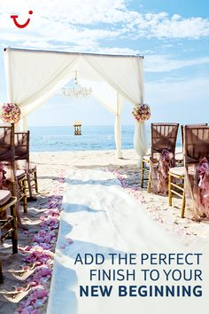 Thomson Weddings are about walking down the aisle with sun on your skin, sand between your toes and the ocean breeze in your hair. Click on the pin to find your dream wedding!
