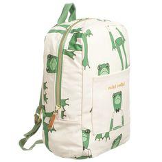 6d7de7219b5 Green Frog Organic Cotton Backpack (30cm)