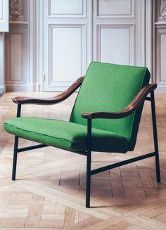 H. Russell armchair by Studio Brichet-Ziegler for Versant Edition | Flodeau.com