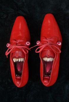 Gwen Murphy's Foot Fetish sculpture series