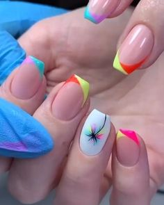Funky Nails, Dope Nails, Swag Nails, Nail Art Designs Videos, Nail Art Videos, Nail Design Video, Best Nail Art Designs, Short Nail Designs, Nail Polish Designs