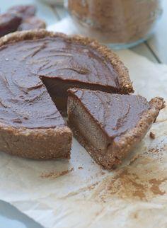 Chocolate Caramel Layer Pie - Feasting on Fruit