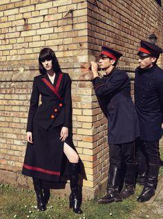 Sarah Brannon by Sofia Sanchez and Mauro Mongiello for Harper's Bazaar Germany November 2015