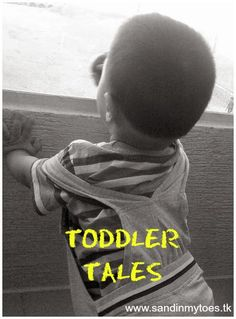 Telling stories is a favoutite activity of my toddler, and here's how you can encourage yours!  #parenting #toddlers #storytelling