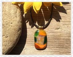 The Bohemian Spirit Colored Glass, Fused Glass, Spirit, Bohemian, Pendant Necklace, Pendants, Jewelry, Jewellery Making, Jewlery