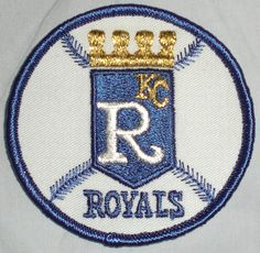 "KC Kansas City Royals 3"" MLB Baseball Patch Vintage Look Free Shipping | eBay"