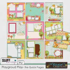 Playground Play- the Quick Pages