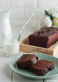 Receta en nuestro blog Cupcakes, Queso, Glass Of Milk, Tartan, A Food, Desserts, Blog, Instagram, Chocolate Frosting