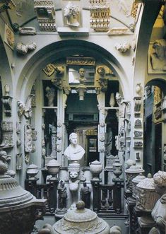 Sir John Soane's Museum, one of the many stunning house museums in London. Check out some of the other stunning house museums London has to offer at TheCultureTrip.com. Click the image to view the full list! http://www.soane.org/your_visit