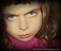 Angry Child Background with website