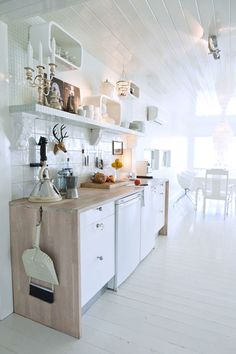 a beautiful norwegian kitchen photographed by mary beth koeth, via desire to inspire.