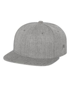 Original Chuck - Flat Bill Snapback Cap - 27101 Heather