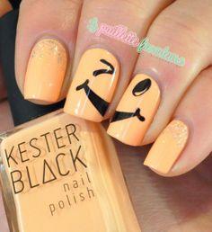 Nailstorming Mise à jour - acid mani - kester black peach melba et milky way - stamping bundle monster 2012 - #nail #nails #nailart http://lapaillettefrondeuse.blogspot.be