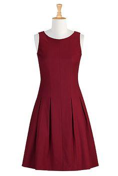 eShakti - Red Alert dress