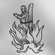 Fresh WTFDotworkTattoo Find Fresh from the Web Burned - A thing is not necessarily true because a man dies for it. - Oscar Wilde - #apprentice #tattooapprentice #blackandwhite #tattoist #tatouage #tattooism #tatuage #tattoos #portrait #tattoo #tattooed #instatattoo #customtattoo #Catalunya #tatts #blackwork #bearded #tattooart #tattoostyle #linework #inked #lineworktattoo #dotwork #tatuatge #fly #dotworktattoo #blackworktattoo #tatuaggio #lines #tattoostyle #blackandwhite #flame…