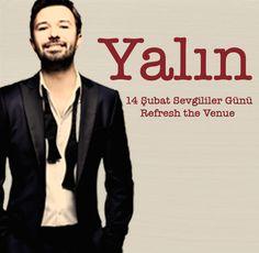 Yalın, Refresh the Venue'de!  #14şubat #konser