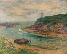 Doëlan, Low Tide by Henry Moret