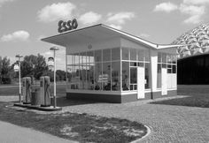 Modernist Petrol Stations