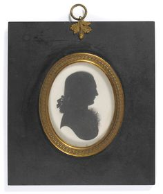 Tennants Auctioneers: John Miers and Studio (18th/19th century): Portrait Silhouette of a Gentleman