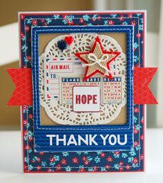 Remember the Good Times: Card Share: Hero Thank You @Lisa Rukin Swift