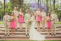 Wedding at Sacred Heart Church and Coronado Municipal Golf Course