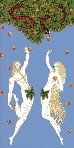 Adam and Eve - Erte
