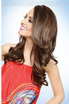 Beautiful Brunette Haircolor with Subtle Highlights