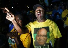 Thousands of ANC supporters were singing and dancing in Joburg's CBD to celebrate the party's victory. Victorious, Singing, Politics, Dance, News, Celebrities, World, Dancing, Celebs