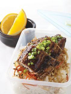 Teriyaki-Glazed Bangus with carrots and Jicama by Chef Sandralyn Hataway Teriyaki Glaze, Thing 1, Just Cooking, Coconut Sugar, Fresh Ginger, Pulled Pork, Real Food Recipes, Carrots, Seafood