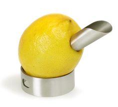 metal lemon squeezer