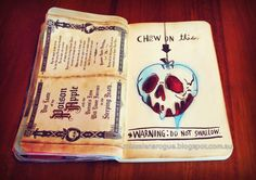Elena Rogue, chew on this wreck this journal page ideas