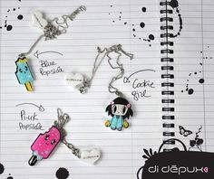 Sale Kawaii petit necklaces select one by didepux on Etsy