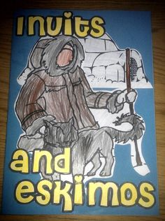 Inuit and Eskimos Lapbook Geography Lessons, Teaching Geography, 4th Grade Social Studies, Teaching Social Studies, Kindergarten Science, Preschool Activities, Winter Activities, Learning Websites For Kids, Inuit People