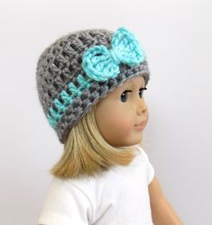 Doll Hat Toys 18 Inch Doll Clothes by PreciousBowtique on Etsy