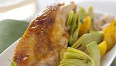 Pollo con carciofi e patate