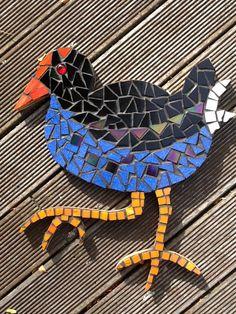 Mosaic pukeko