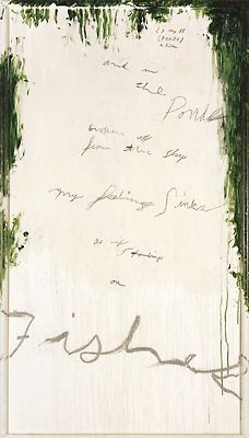 Cy Twombly, Untitled Part I (A Painting in 9 Parts), 1988