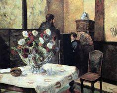 Paul Gauguin - Post Impressionism - Intérieur
