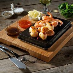 The SteakStones Sizzling Starter Set #Cook, #Starter, #Stone