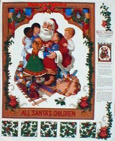 . Christmas Fabric Panels, Painting, Art, Art Background, Painting Art, Kunst, Paintings, Performing Arts, Painted Canvas