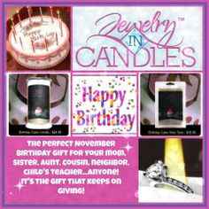 Recipes to compliment your favorites Jewelry in Candles scents. www.jicbyjackie.com