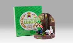 Luigi's Mansion diorama coming to Club Nintendo ⊟ ... - Tiny Cartridge 3DS - Nintendo 3DS, DS, Wii U, and PS Vita News, Media, Comics, & Retro Junk Limited Brands, Super Mario Bros, Wii U, Luigi's Mansion, Legend Of Zelda, New Video Games, Lets Play, Nintendo Games, Toy Chest