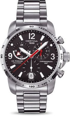 Certina Watch DS Podium Big Size Chrono GMT Quartz #bezel-fixed #bracelet-strap-steel #brand-certina #case-material-steel #case-width-42mm #chronograph-yes #date-yes #delivery-timescale-7-10-days #dial-colour-black #gender-mens #gmt-yes #luxury #movement-quartz-battery #official-stockist-for-certina-watches #packaging-certina-watch-packaging #style-sports #subcat-certina-gmt #subcat-ds-podium #supplier-model-no-c001-639-11-057-00 #warranty-certina-official-2-year-guarantee…