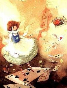 Korean Alice In Wonderland Illustrated by Kim Min-Ji- from Changdong Alice drama.