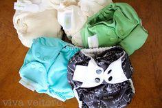 How to Prep Cloth Diapers from viva veltoro.  #clothdiapers
