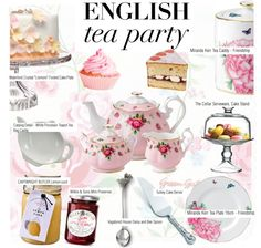 """English Tea Party"" by kusja on Polyvore"