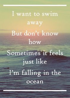 Into The Ocean - Blue October.....and this my friends started my obsession