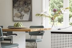 Private dining room in Haburg, Germany  Interior design ny Plan W