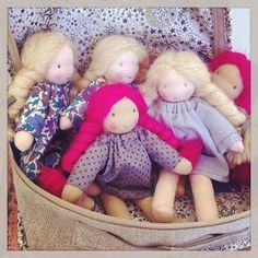 à la boutique, poupées de poche